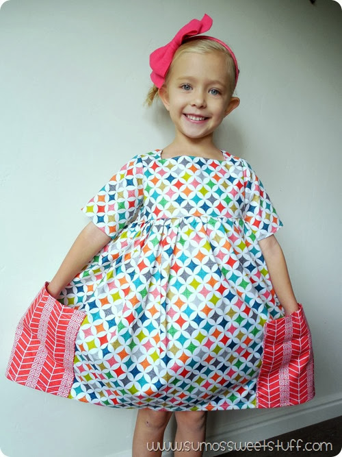 Sally Dress Pattern by Very Shannon - This pattern is included in the Sew Fab Pattern Bundle. #sewfab