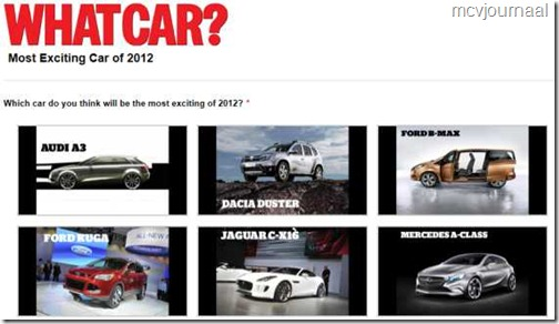 Most exciting car of 2012 01