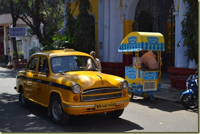 Calcutta Cab and Ice Cream