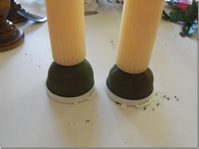 floral candlestick project 005
