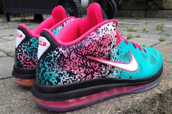 Nike LeBron 9 Low 8220Bringing Sand to the Beach8221 Custom by Mache