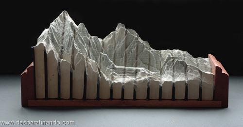 livros montanhas entalhados esculpidos desbaratinando (11)