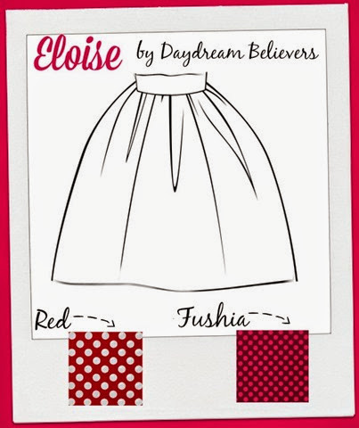 Eloise Skirt Valentines Edition Pre Order Sample Board