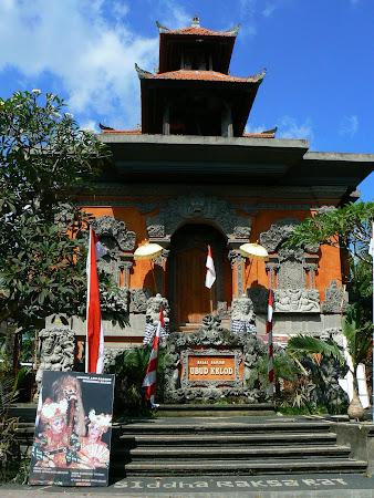 Bali religion: temple in Ubud