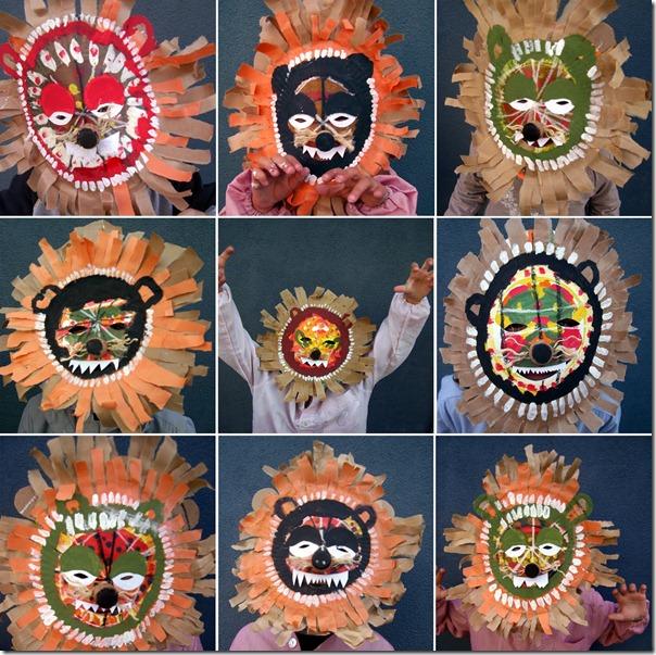 mascaras africanas leones (2)