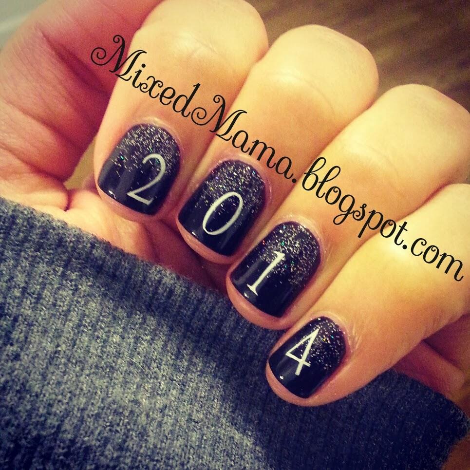 MixedMama: New Year\'s Eve Nails