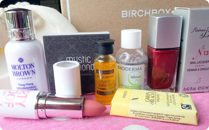 September birchbox beauty box contents