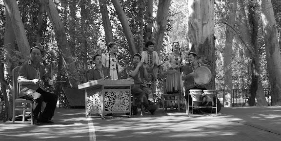 Turfan- Putagou musiciens
