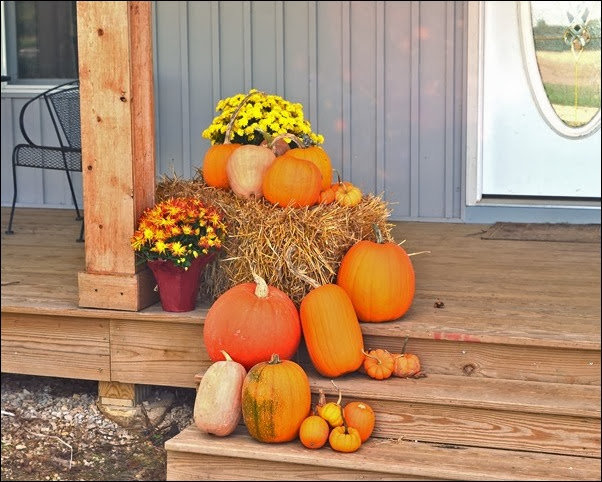 front porch left fall 2013
