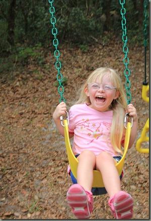 Brianna swinging 06-2011