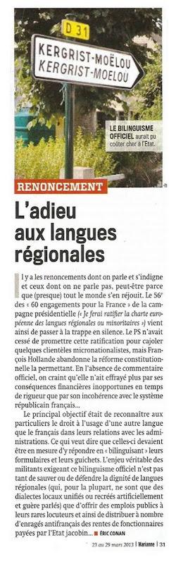 Nationalisme français Marianne