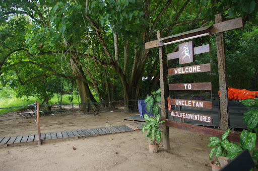 Entrance to the camp.