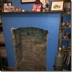 empty fire place