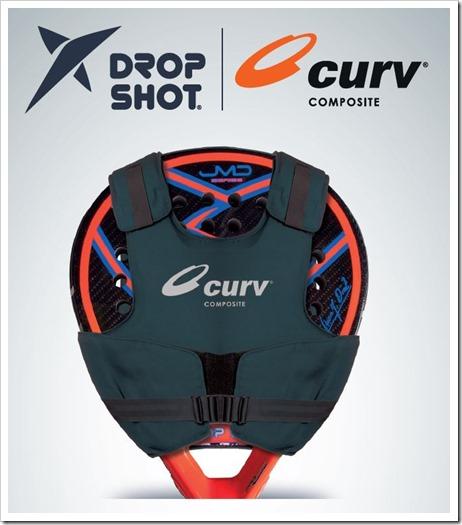 """La firma DROP SHOT presenta """"Curv"""" tecnología puntera que marcará tendencia."""