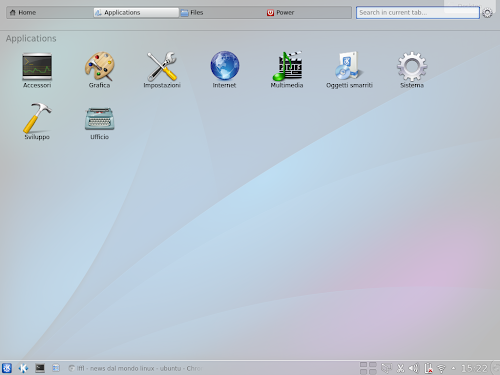 KDE Homerun Launcher 0.2.2