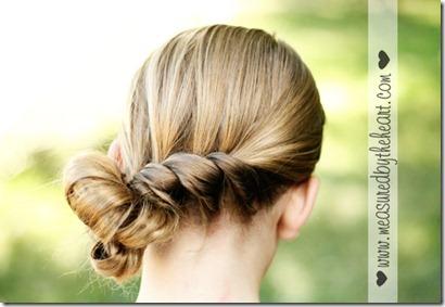 surprise twist hair tutorial
