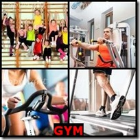 GYM- 4 Pics 1 Word Answers 3 Letters