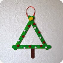 Popsicle Stick Tree @ whatilivefor.net