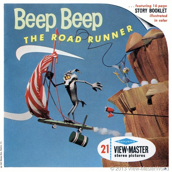 View-Master Beep Beep The Road Runner (B538), Packet Cover