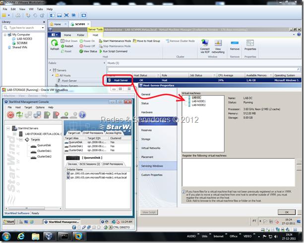 Laboratório de Virtualização SCVMM 2012 RC