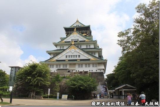 日本大阪城,天守閣