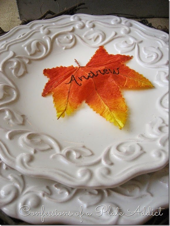 CONFESSIONS OF A PLATE ADDICT Farmhouse Thanksgiving Tablescape