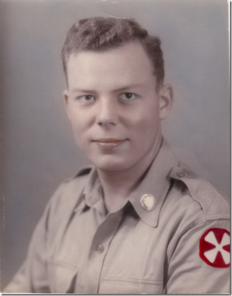 Jan Albert Iverson in Uniform