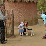 Silje i Zoo med Mormor og Morfar i Påsken