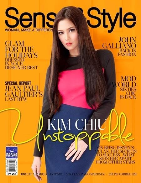 Kim Chiu - Sense & Style Nov. 2014