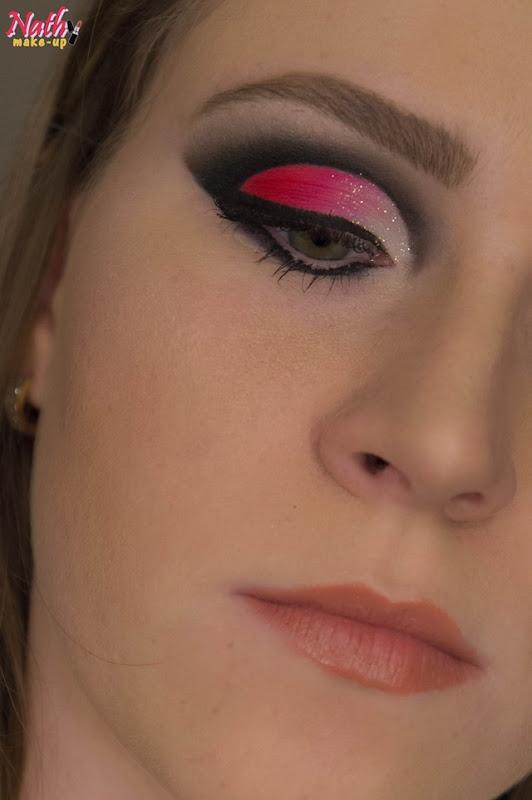 cut-crease rosa