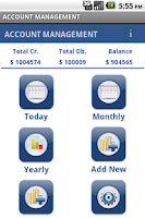 Screenshot of ACCOUNT MANAGEMENT