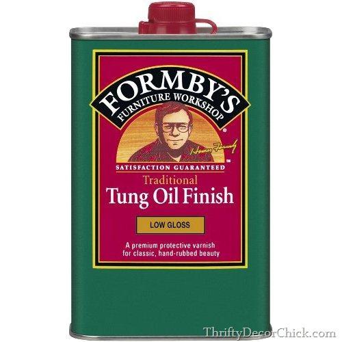 tung oil for butcher block
