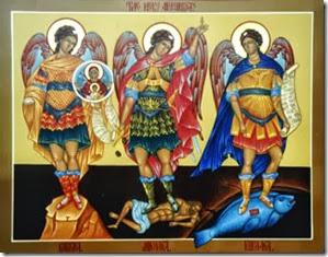 Anjos Miguel Gabriel Rafael
