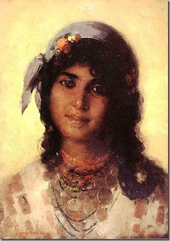 Nicolae Grigorescu-Gypsy's Head