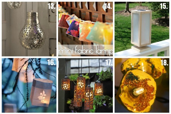 Do-it-Yourself Patio Lights