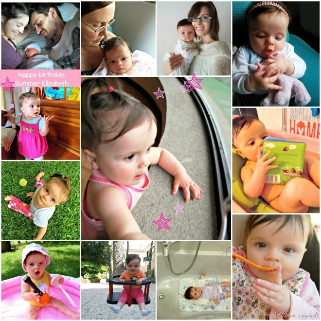 12 months of baby