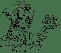 Kinomoto Sakura & Cerberus (Cardcaptor Sakura)