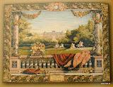 Gobelin 9111, Terrasse au chateau, 150x200cm, 110x150cm
