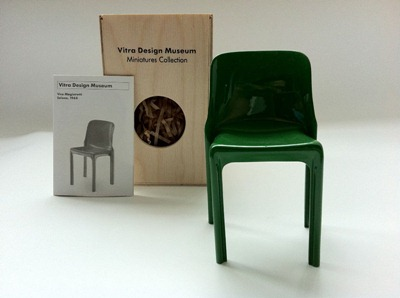 Selene chair Vitra miniature
