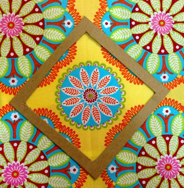 Megan's Star Block - Fussy Cutting