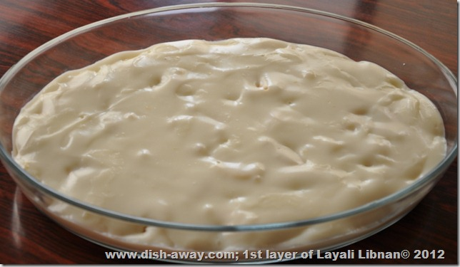 Layali Libnana Recipe by www.dish-away.com