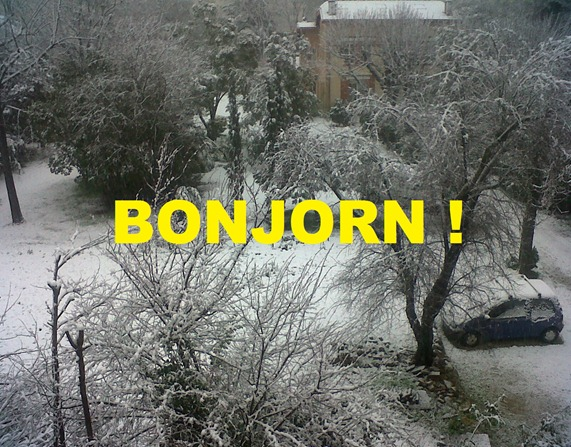 Bonjorn Tolosa ennevada genièr 2013