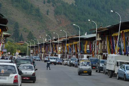 Imagini Bhutan: centru Paro