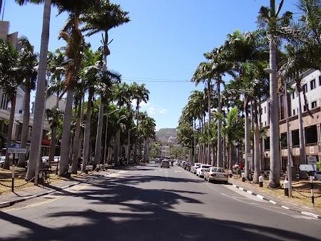 Principalul bulevard din Port Louis