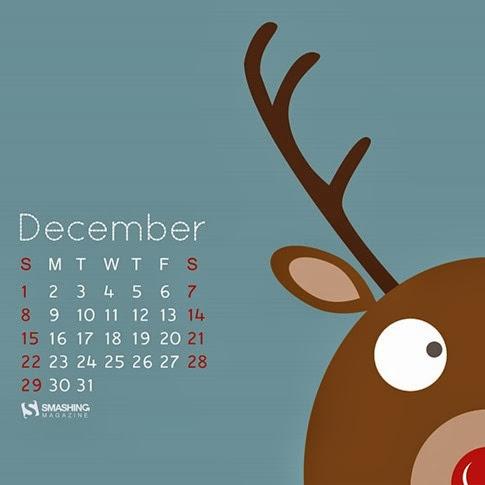 Calendario Diciembre 1