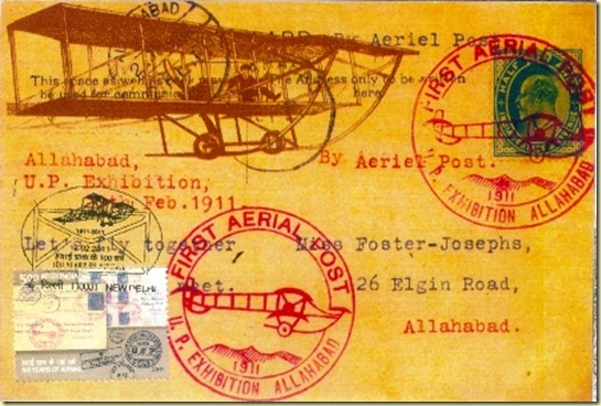 Airmail centenary 12.2.2011