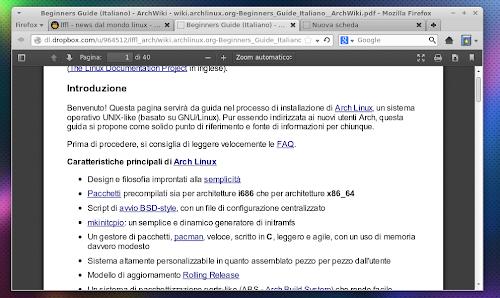 Mozilla Firefox 19 - PDF Reader