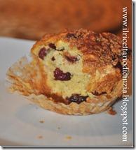 Muffin con mirtilli rossi secchi di Nigella Lawson