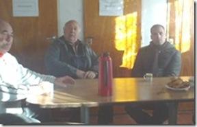 El intendente almorzó con jubilados de Las Toninas