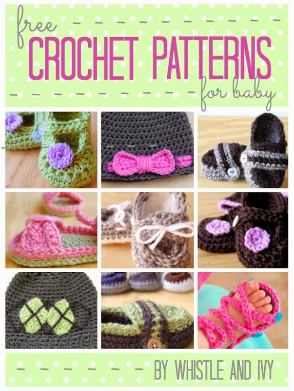 Free Crochet Pattern For Baby Boat Shoes : Free Crochet Patterns for Baby Pinnutty.com
